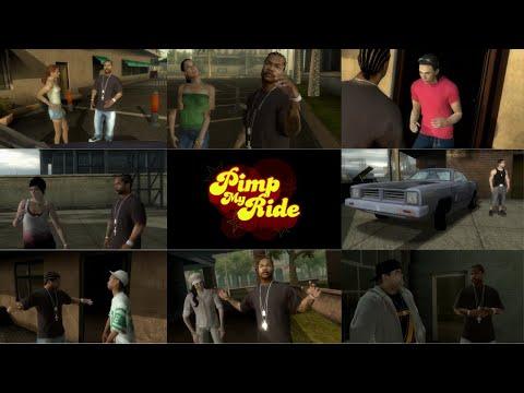 MTV'S Pimp My Ride Video Game - ALL CUTSCENES