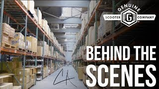 7. BEHIND THE SCENES AT GENUINE SCOOTERS | COLLIN AUSTIN | THE VLOG