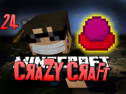 Minecraft CRAZY CRAFT 24 - ARCHMAGE'S BLOOD ORB (Minecraft Mod Survival)