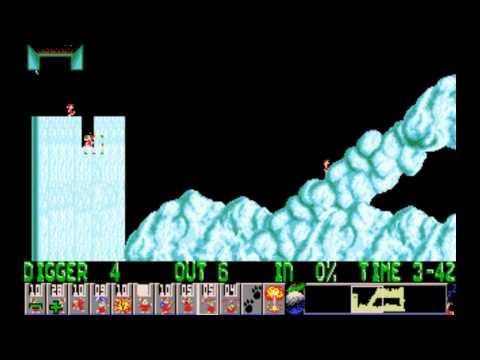 Xmas Lemmings 1991 PC