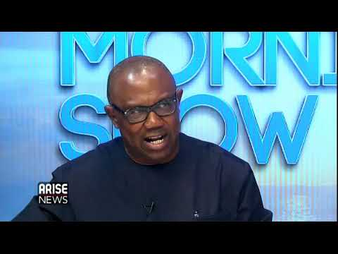 Vice Presidential Candidate of PDP, Peter Obi on his road to presidency and controversies around it