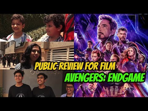 1st Day | 1st Show | Public Review | Film | Avengers: Endgame