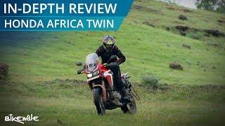 2. Honda AfricaTwin 2017 Review | BikeWale
