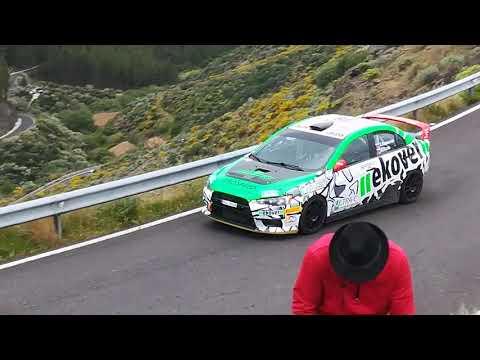 Rally islas Canaria 2018. Entrenamiento zona artenara.. Las palmas de gran Canaria