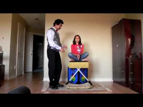 flyingcarpet - Princess Flying Carpet Magic Illusion performed by Mississauga Magician and illusionist Raj / Rajesh / Rajeshwar one of famous Toronto Magicians and Illusion...