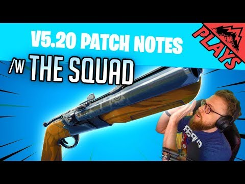 Patch Notes With The Squad - Fortnite Patch/Gameplay #83 (StoneMountain64 & Facebook Crew)