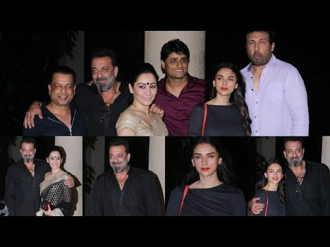 "Sanjay Dutt | Aditi Rao Hydari | Shekhar Suman | Celebrating The Completion Of The Film ""Bhoomi"""