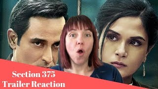 Section 375 Official Trailer REACTION!