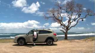 Driving Sports TV - 2013 Subaru XV Crosstrek Tropical Test And Review