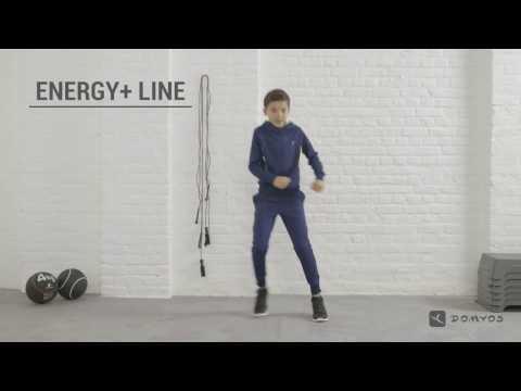 Sweat et pantalon chaud GYM ENERGY garçon DOMYOS