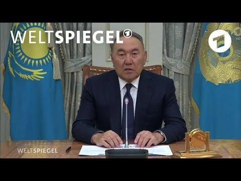 Kasachstan: Die Jugend will freie Wahlen | Weltspiegel