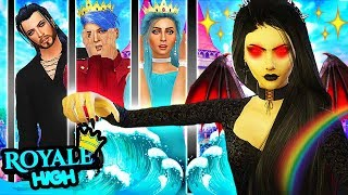WE'RE TRAPPED IN THE DARK FAIRY DUNGEON!!🔥 The Sims 4 Royal High School #23! 👑