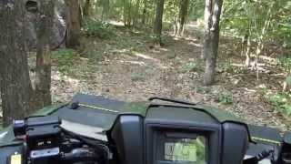 7. Trail Riding My  2014 Honda Foreman TRX 500 FM1 4x4 By KVUSMC