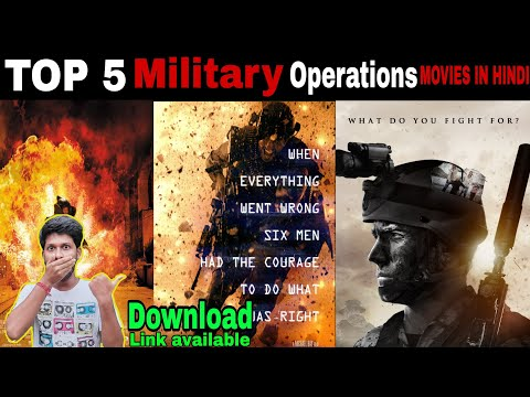 Top 5 Military Operations Hollywood Movies.. Best of 5 Special force movies