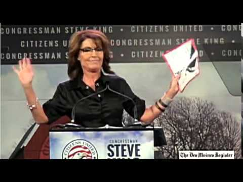 Palin - Full Speech - Sarah Palin at the Citizens United Iowa Freedom Summit 1/24/2015.