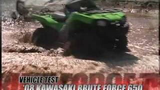 8. ATV Television Test - 2008 Kawasaki Brute Force 650