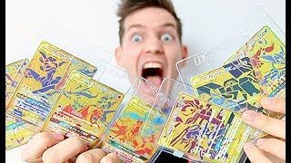 HE GAVE ME ALL THE NEW GOLD CARDS!!!!!!! by Unlisted Leaf