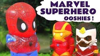 Marvel Superhero Ooshies
