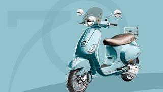 10. Piaggio Vespa 70th Anniversary Edition Specs