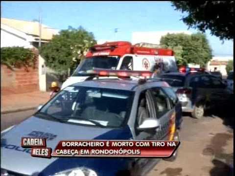 Borracheiro é morto em Rondonópolis