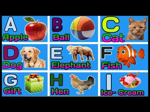 phonics sounds of alphabets, A for Apple b for Boll, English Varnamala, HINDI ALPHABETS, ALPHABETS