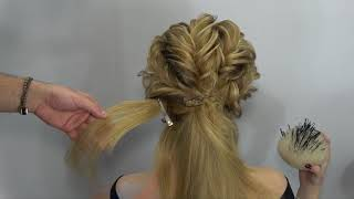 Video Easy And Fast Hairstyle By Farrukh Shamuratov 3gp Mp4 Hd