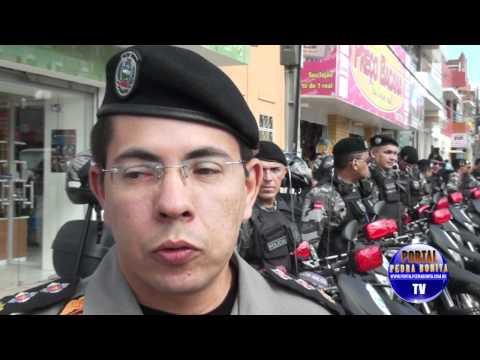 13º Batalhão de Polícia de Itaporanga apresenta novas motos da ROTAM