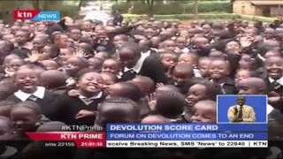 Devolution Scorecard; Forum On Devolution Comes To An End