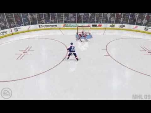 NHL 09 Spin-O-Rama Goal