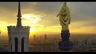 Lyon France  City new picture : Exceptional pictures of Lyon (France) filmed using a drone