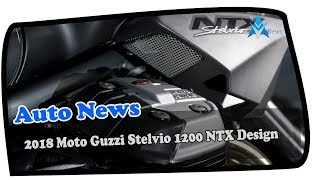 5. HOT NEWS!!!2018 Moto Guzzi Stelvio 1200 NTX Design Overview  Price & SPec