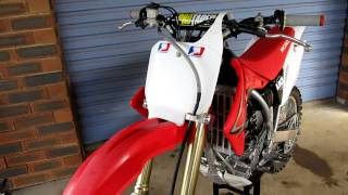 4. HONDA CRF 150RB WALK AROUND 2009
