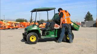 4. Sold! 2005 John Deere Gator Turf TX ATV UTV Utility Dump Rough bidadoo.com