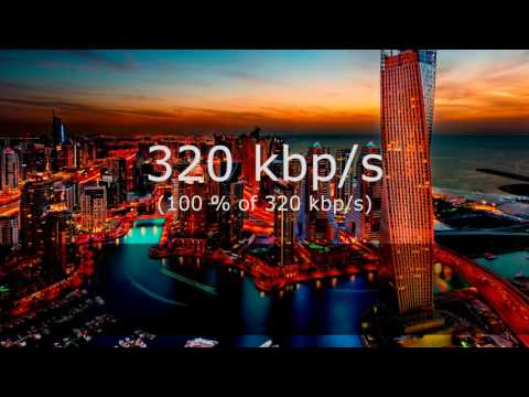4K - MP3 Compression Comparison ( 8 Kbps TO 320 Kbps ) NEW VERSION