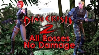 Video Dino Crisis 2 - All Bosses MP3, 3GP, MP4, WEBM, AVI, FLV Desember 2018