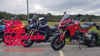 6. 2018 Ducati multistrada 1260 s  riding impressions / review