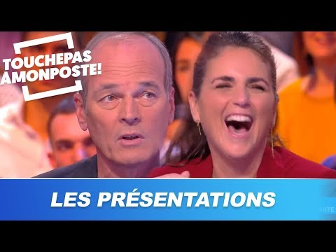 Laurent Baffie présente les chroniqueurs de TPMP