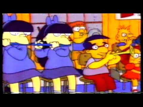 The Simpsons Intro 1990 Season 1 vhs copy