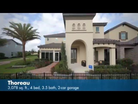 The Thoreau Floor Plan | Watermark in Orlando, FL | Meritage Homes