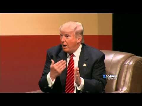 "Trump: ""He's a war hero because he was captured. I like people that weren't captured"" (C-SPAN)"
