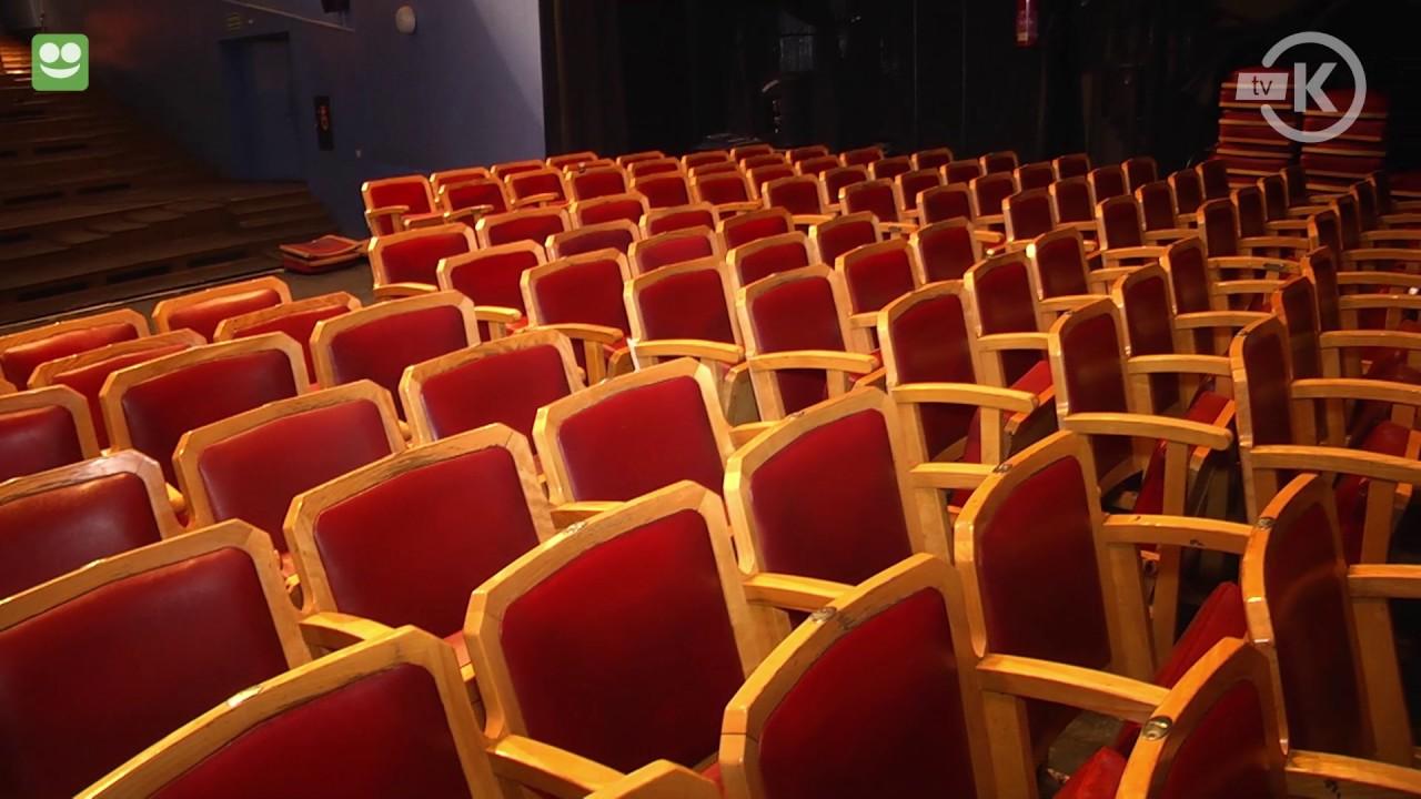 Remont sali kinowej rozpoczęty