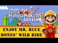 Amazing Super Mario Maker Levels: Enjoy Mr. Blue Bones' Wild Ride!