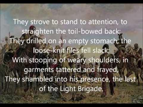 """The Last Of The Light Brigade"" by Rudyard Kipling read by Farnham Town Crier"