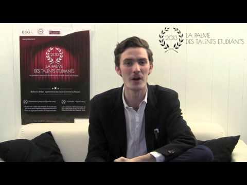 Palme des Talents Etudiants - Jury n°3: Fabien Bompart