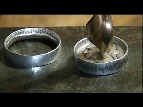 最浪漫的禮物,簡易 手工製作 『硬幣戒指』