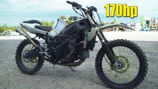 7. 170hp Dirt Bike