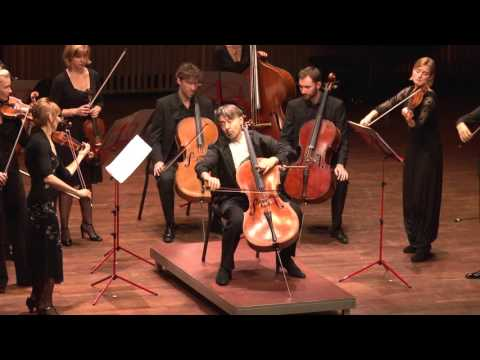 Ivan Monighetti and the Netherlands Chamber Orchestra