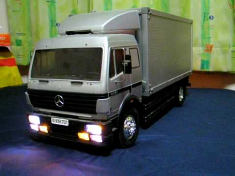 Tamiya 1:14 RC Elektro Truck LKW Mercedes Benz 1850L