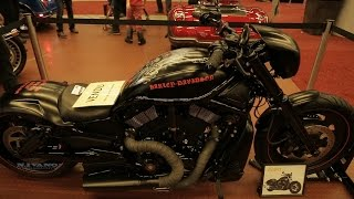 10. 2008 Harley Davidson Nightrod Special - Walkaround 2017 Montreal Motocycle Show