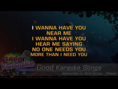 You're The Inspiration -  Chicago (Lyrics Karaoke) [ Goodkaraokesongs.com ]